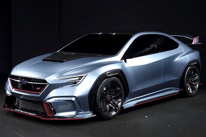 Subaru S Latest Sports Car Concept Previews The New Wrx Sti Carbuzz