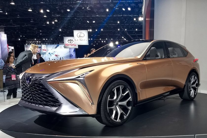Lexus Shows Off The LF-1 Limitless Concept At Detroit