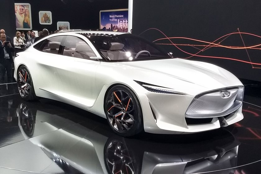 Nearly All New Infiniti Cars Will Be Electrified By 2021
