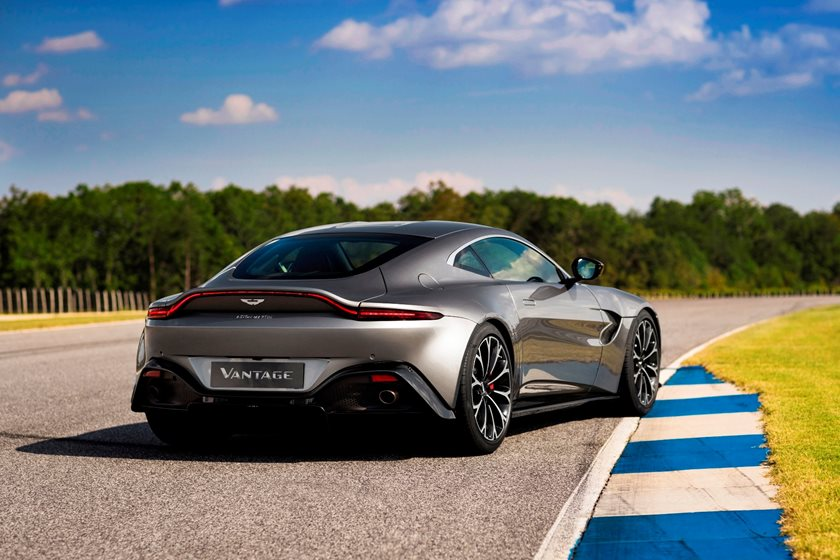 Aston Martin Vantage Coupe Review Trims Specs And Price CarBuzz - Aston martin msrp