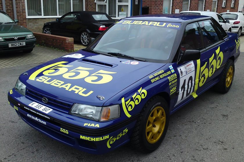 You Can Own This Subaru Legacy Rs Driven By Rally Legends Carbuzz