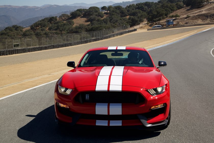2016-2018 Ford Mustang Shelby Front View