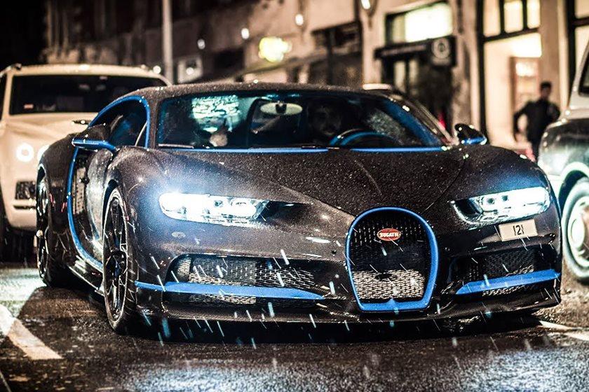 Bugatti Chiron Roams London With A 700 000 Option Carbuzz