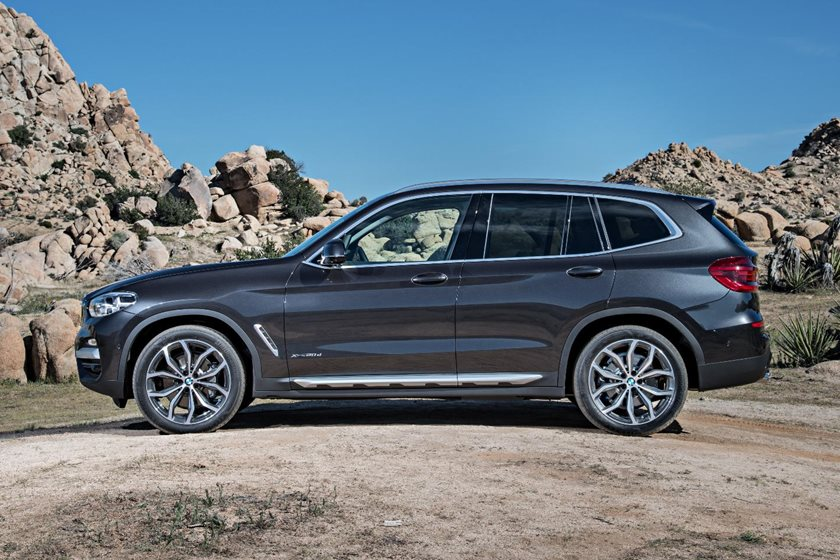 2018-2019 BMW X3 Left Side View