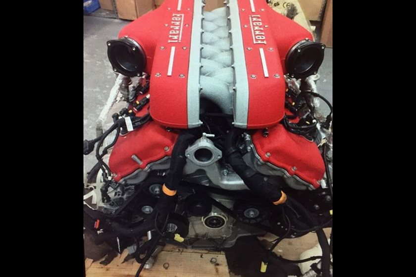 Here's Where You Can Get Your Hands On A LaFerrari Engine For ...