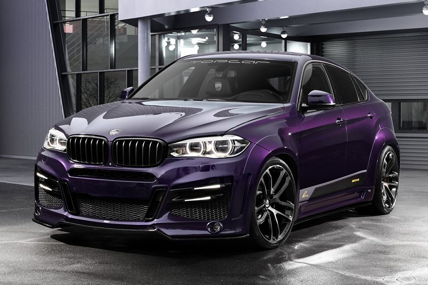 This Modified Bmw X6 Has A Brash Body Kit And A Porsche Paintjob