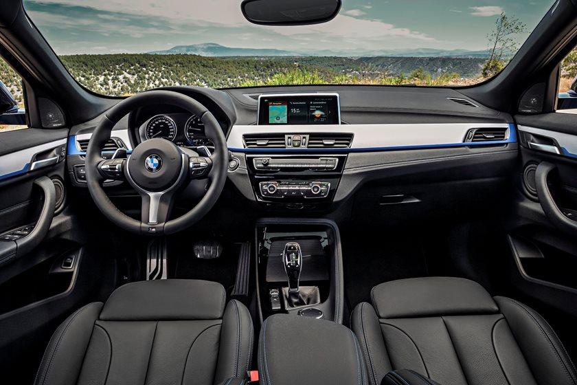 2018 BMW X2 Dashboard  Layout