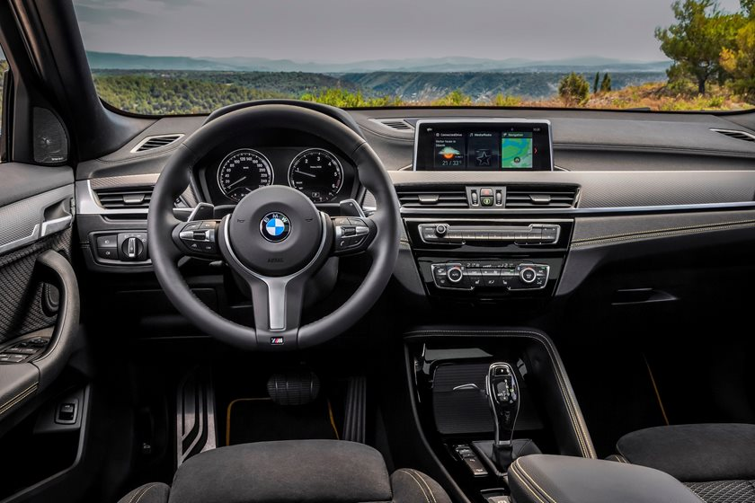 2018 BMW X2 Driver Area