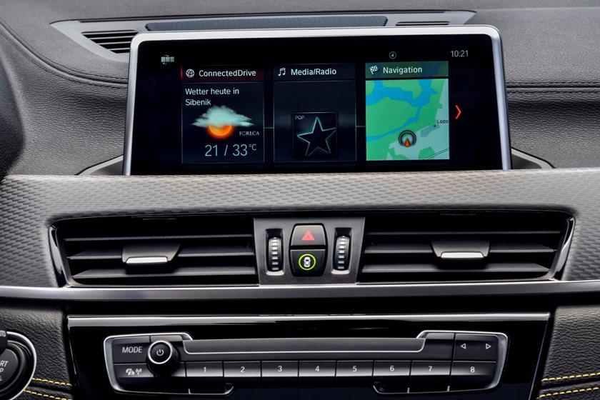 2018 BMW X2 Infotainment System