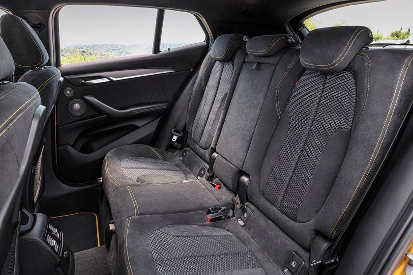 2018 BMW X2 Rear Seating
