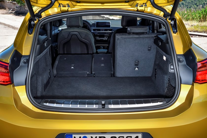 2018 BMW X2 Luggage Space with Seat Folded