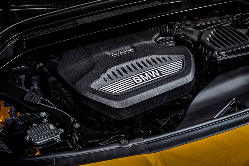 2018 BMW X2 Engine Bay