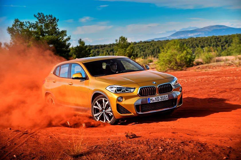 2018 BMW X2 In Motion