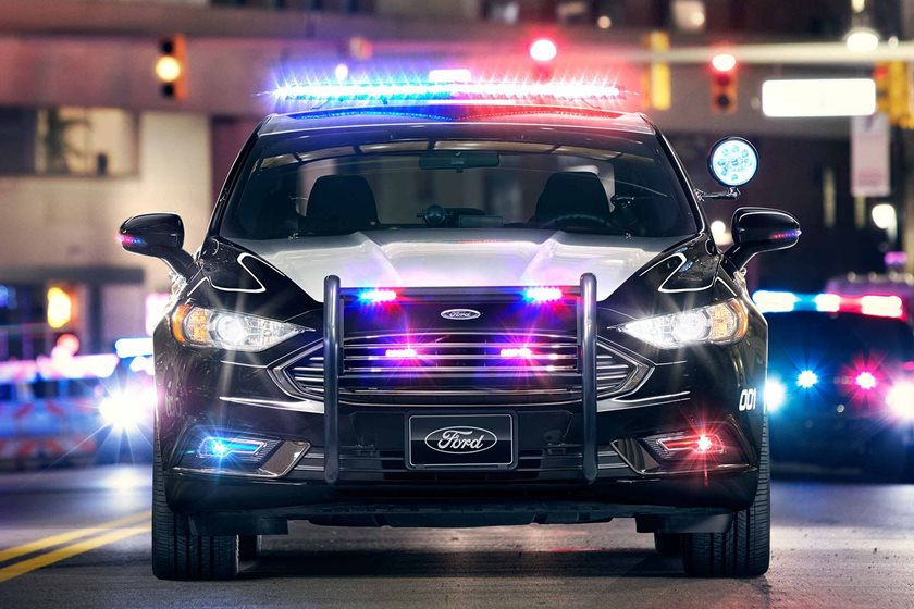 Ford Wants Driverless Police Cars To Patrol The Streets In The ...