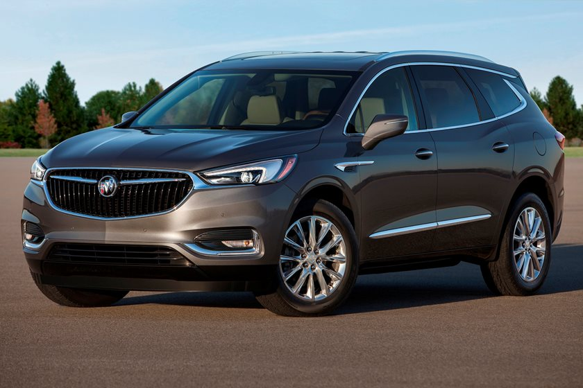 2018-2019 Buick Enclave Front Three-Quarter Left Side View
