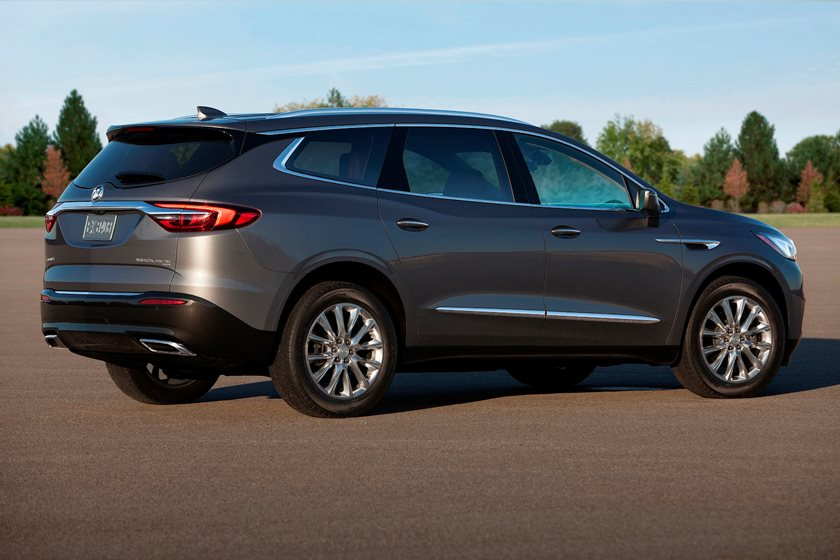 2018-2019 Buick Enclave Rear Three-Quarter Right Side View