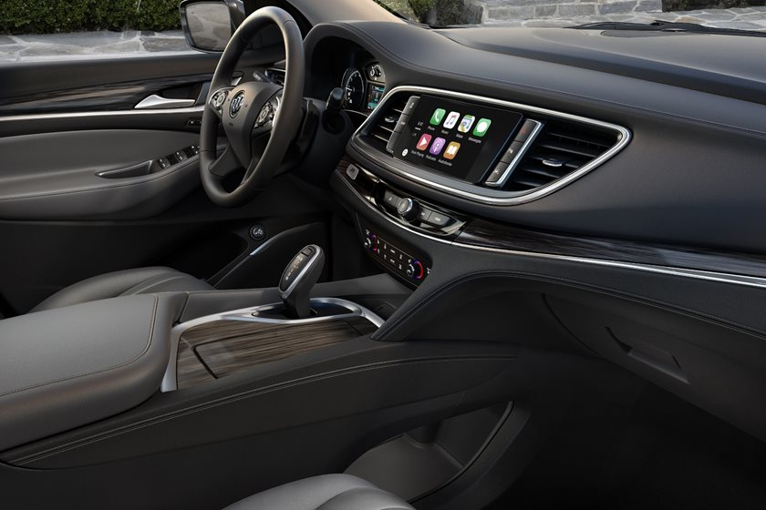 2018-2019 Buick Enclave Dashboard Layout