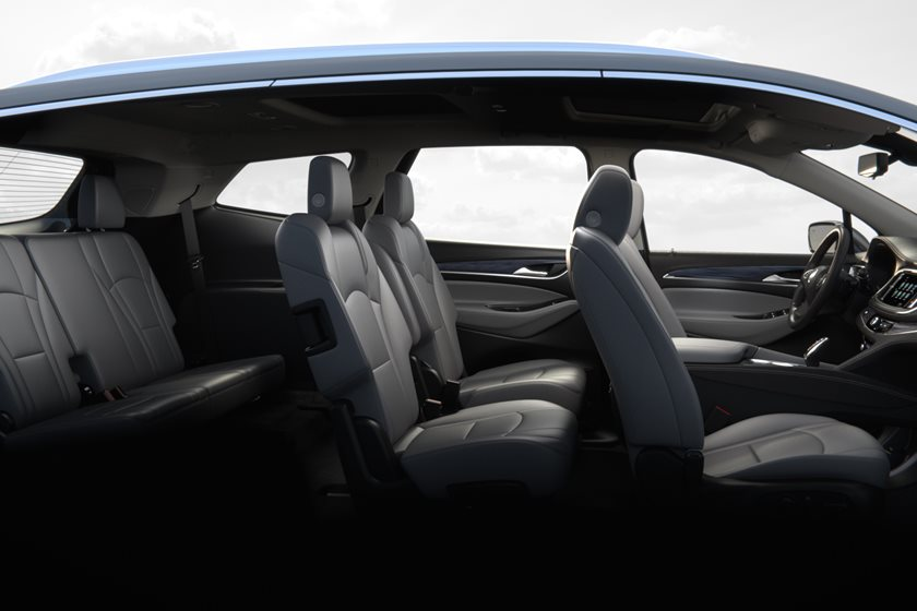 2018-2019 Buick Enclave Full Passenger Seating
