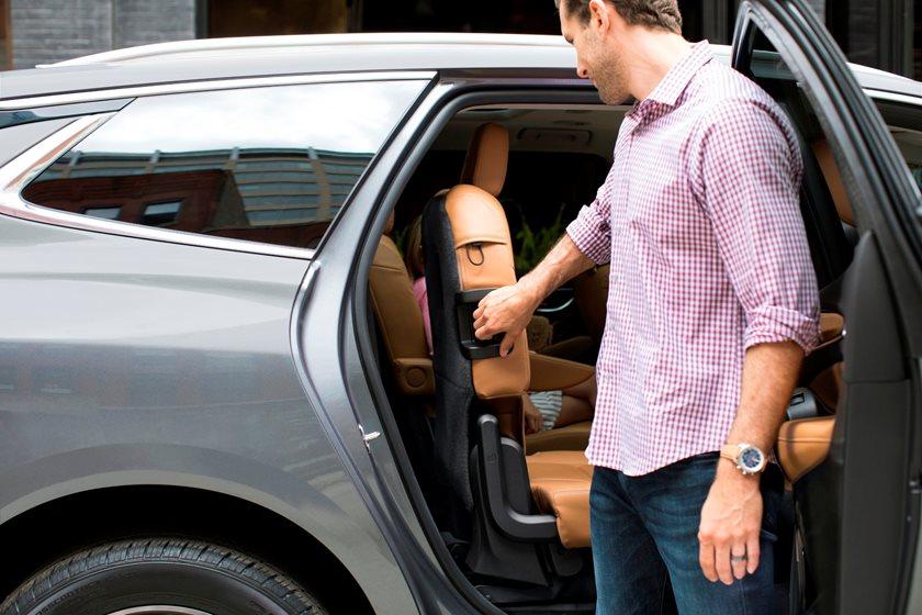 2018-2019 Buick Enclave Rear Seats Details