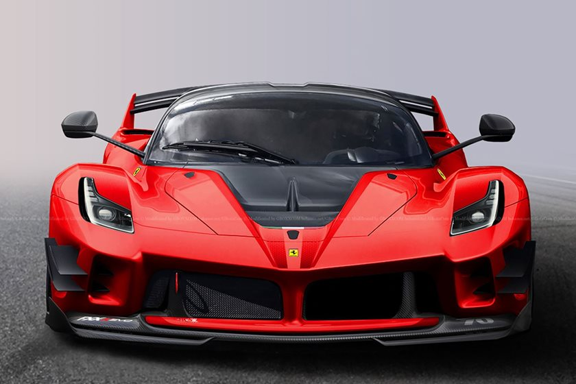 a street legal ferrari fxx k evo would be the definition of insanity carbuzz. Black Bedroom Furniture Sets. Home Design Ideas