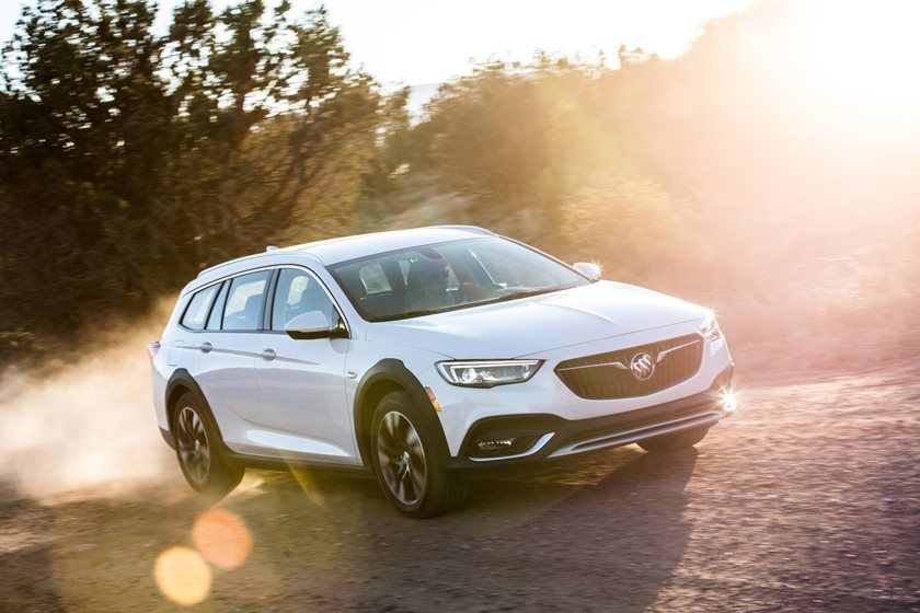2018 Buick Regal TourX Wagon In Motion