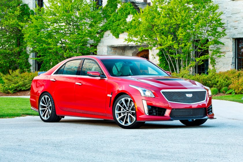 2018 Cadillac Cts V Sedan Review Trims Specs And Price Carbuzz