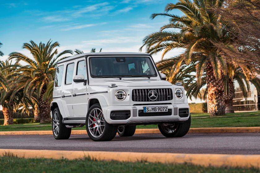 2018 G63 Price >> 2018 Mercedes Amg G63 Suv Review Trims Specs And Price Carbuzz