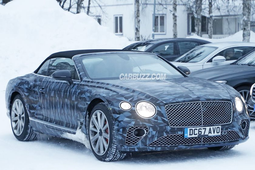 Bentley Continental GTC And New Flying Spur Caught Testing ...