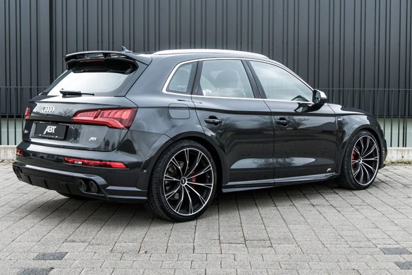 Would You Rock This Widebody Audi SQ CarBuzz - 2018 audi sq5