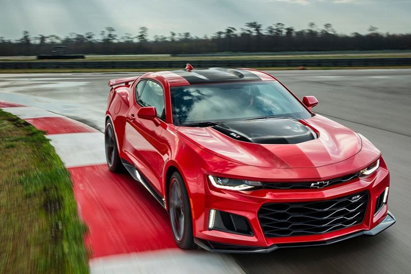 2019 Chevrolet Camaro With Seven Speed Manual Not This Year Carbuzz