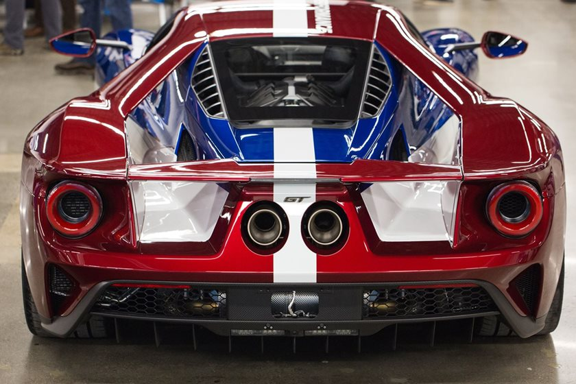 Executive Chairman Bill Ford And Former Ceo Mark Fields Also Specified Their Gts With The Victory Livery Using The   Racing Team Colors To