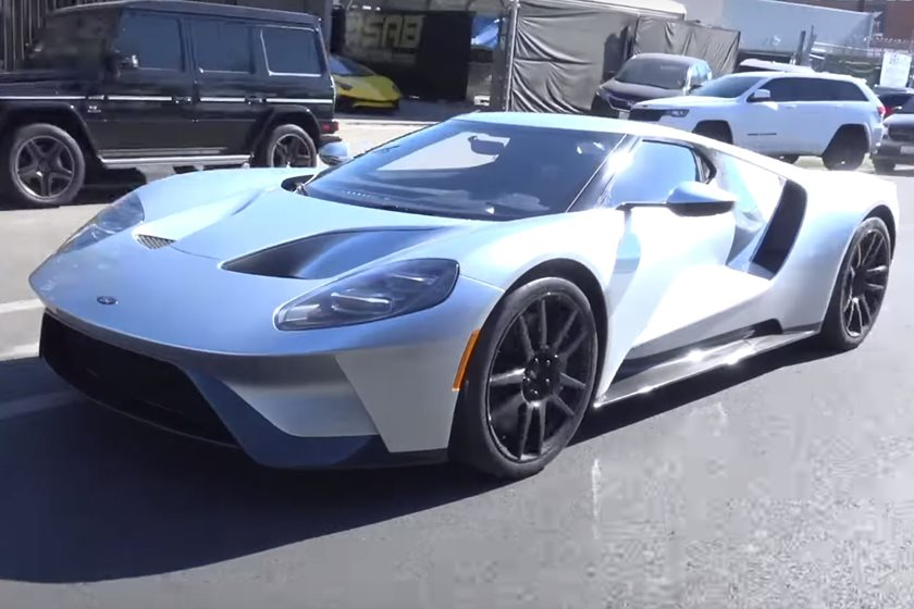 Tim Allen Shows Off His Shiny New Ford GT - CarBuzz