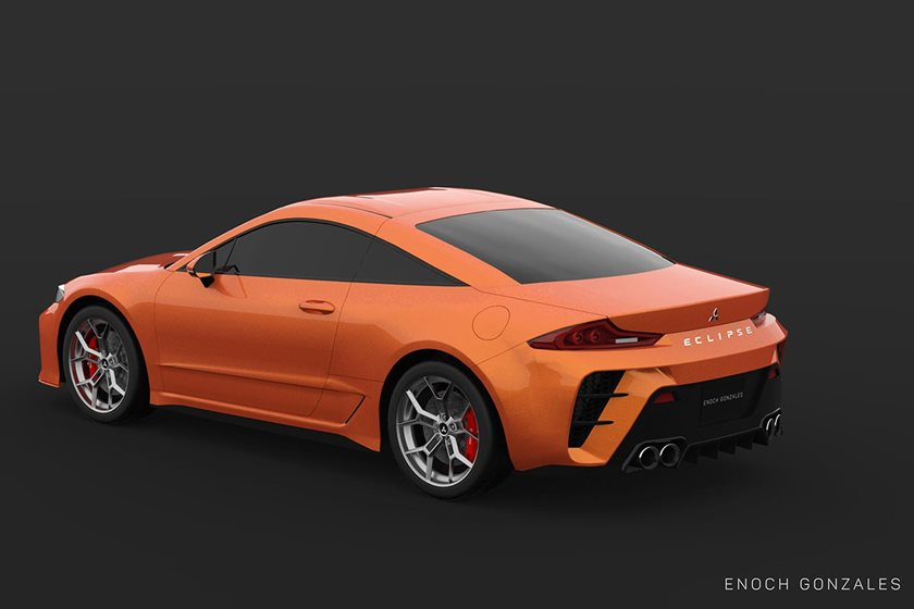 Too Bad This 2020 Mitsubishi Eclipse Rendering Is Only A Rendering - CarBuzz