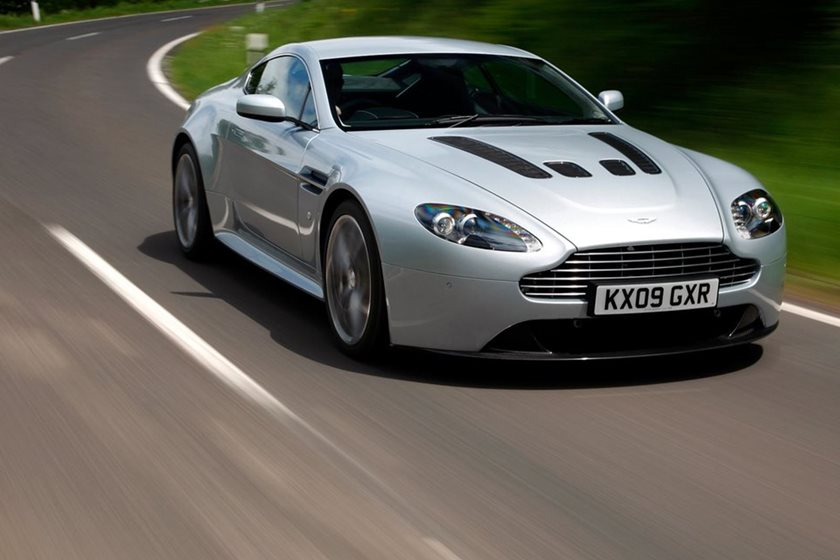 Buy A Manual Aston Martin With A V Before They Become Collectible - Aston martin vantage price used