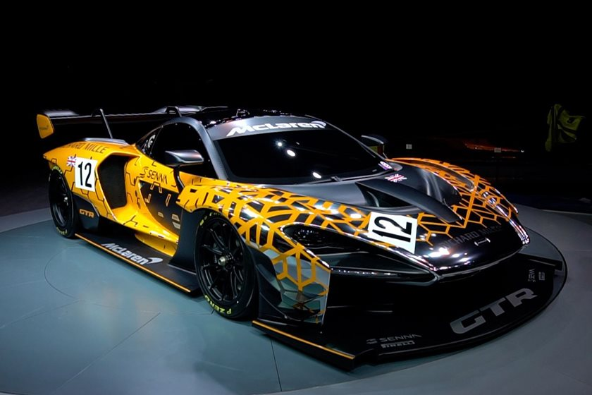 say hello to the mclaren senna gtr the ultimate track weapon carbuzz. Black Bedroom Furniture Sets. Home Design Ideas