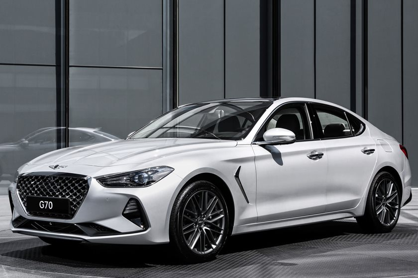 Good 2019 Genesis G70 Will Be Available With Six Speed Manual   CarBuzz