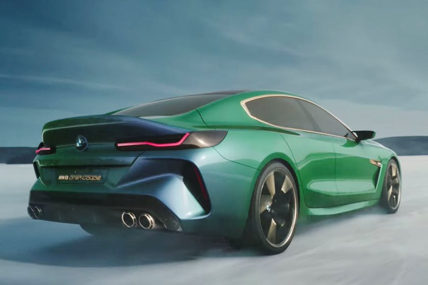 Bmw M8 Gran Coupe Concept Looks Even Better In Action