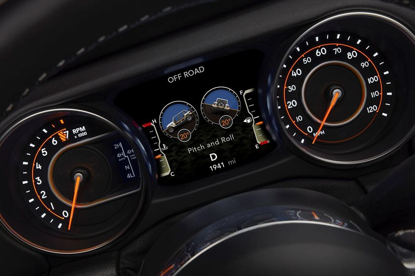Why Aren't The New Jeep Wrangler's Digital Off-Road Gauges ...