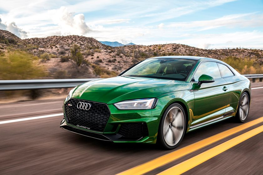 2018 Audi RS 5 Coupe In Motion