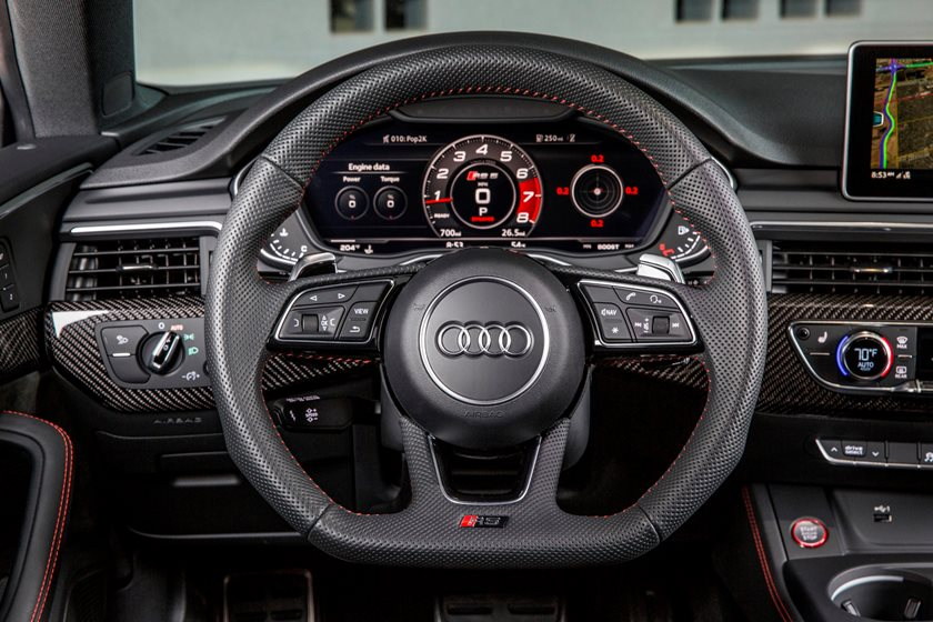 2018 Audi RS 5 Coupe Steering Wheel
