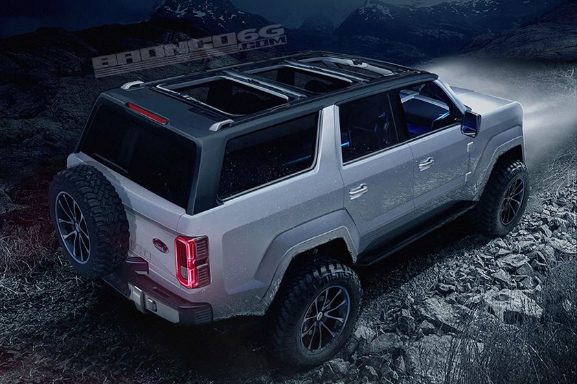 Is Ford Planning To Show The 2020 Bronco Tomorrow Carbuzz