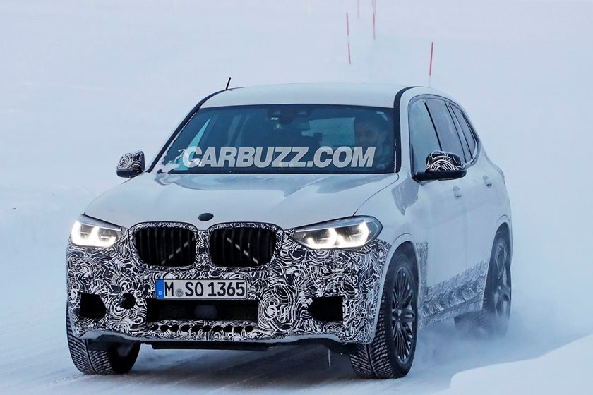 We Snapped The 450 Hp Bmw X3 M Inside And Out Carbuzz