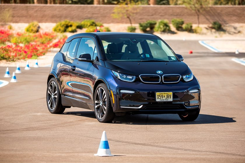2018 BMW i3s Review: Driving The Sporty EV On An Autocross