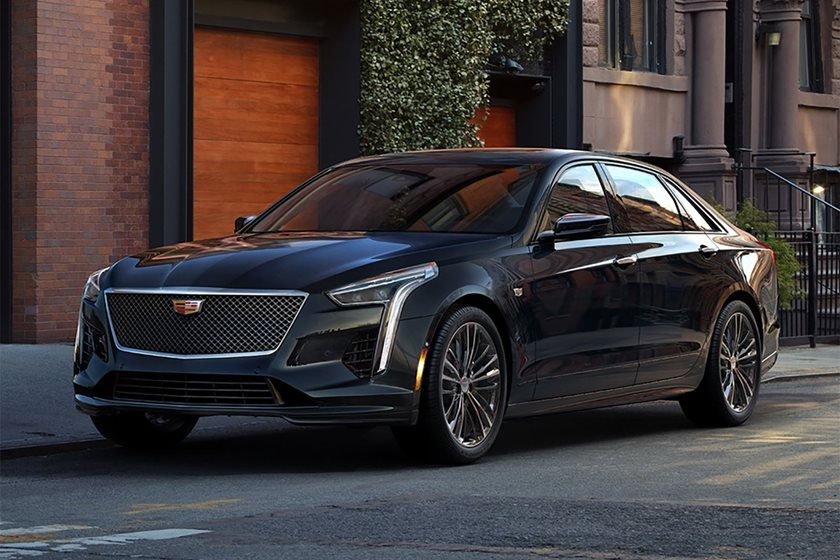 Surprise! Cadillac CT6 V-Sport Revealed With 550-HP V8