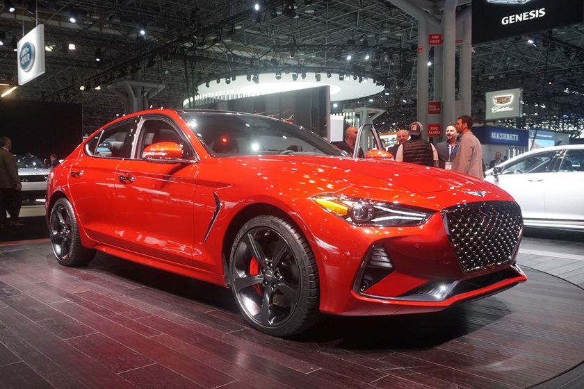 2019 Genesis G70 Arrives In New York To Fight The Bmw 3