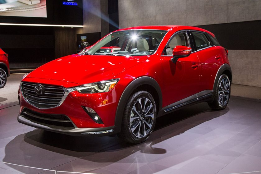 2019 Mazda Cx 3 Revealed In New York With Subtle Refinements Carbuzz