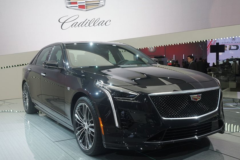 Get A Closer Look At The New Cadillac Ct6 V Sport Carbuzz