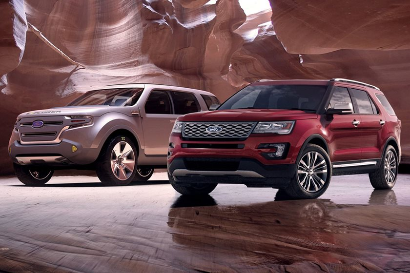 From Concept To Production 2018 Ford Explorer Carbuzz