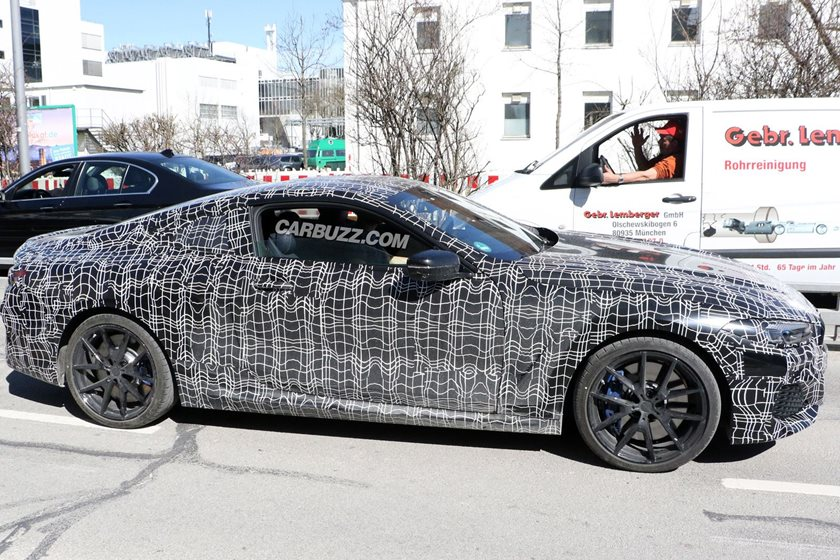 Design Len München spied bmw 8 series coupe and convertible in germany