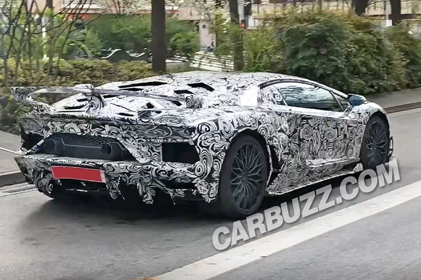 Lamborghini Aventador Sv Jota Crosses Paths With Our Spies Again